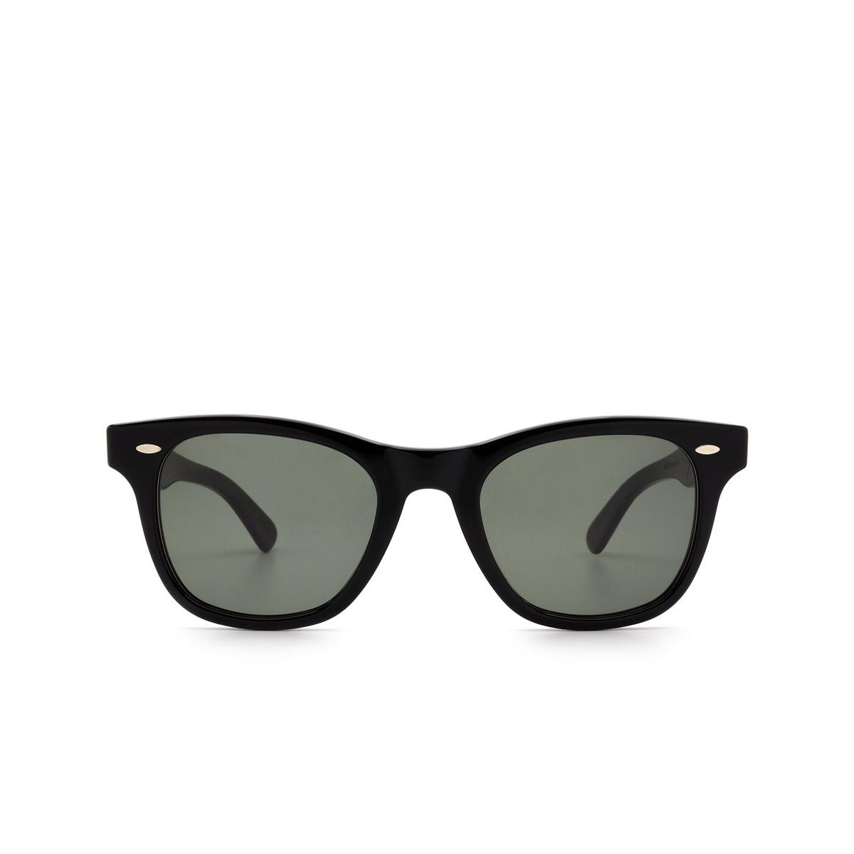 Julius Tart Optical® Square Sunglasses: Seafare color Black.