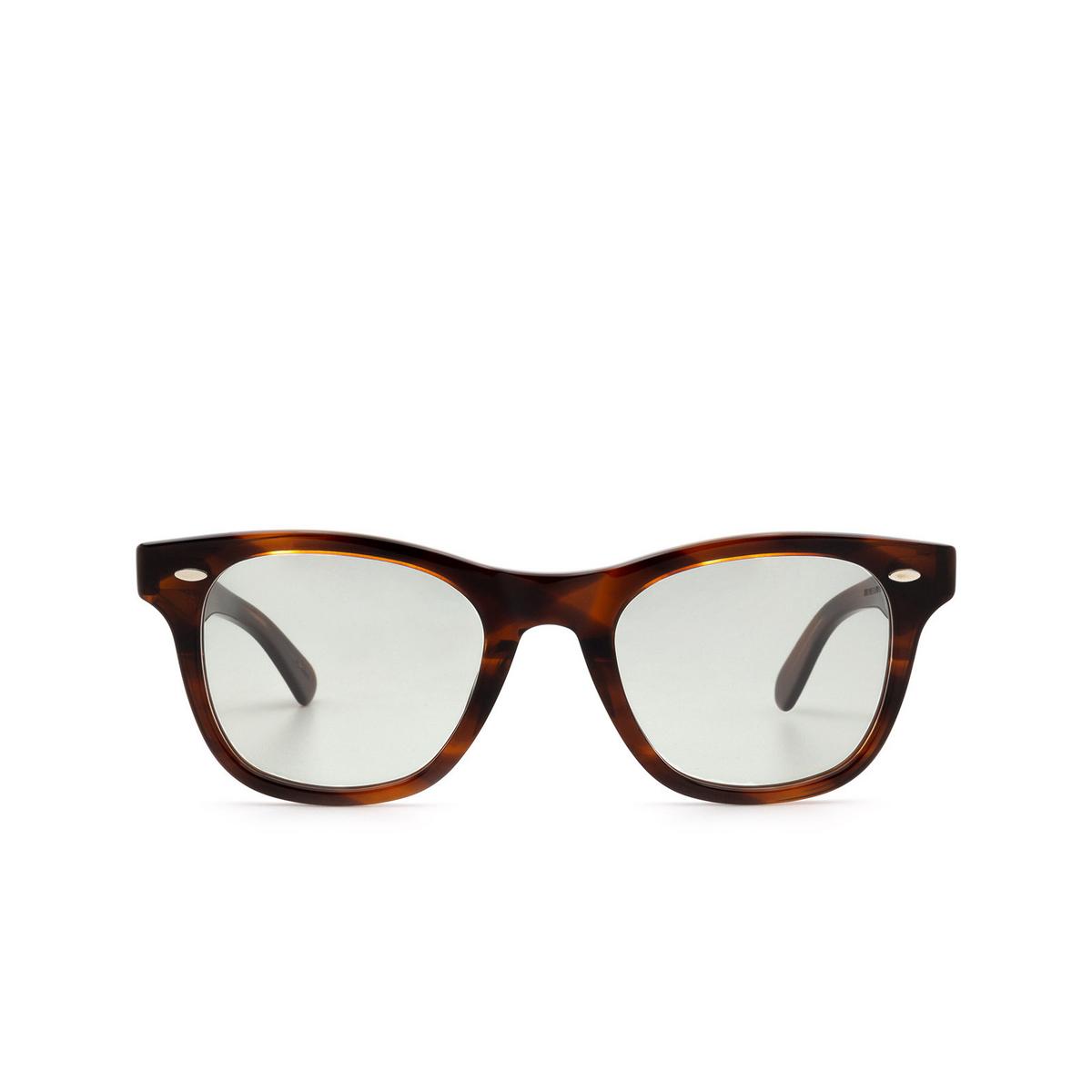 Julius Tart Optical® Square Sunglasses: Seafare color Demi Amber.