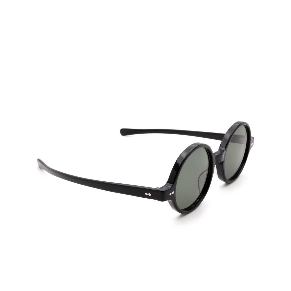 Julius Tart Optical® Round Sunglasses: T-round Sun color Black.