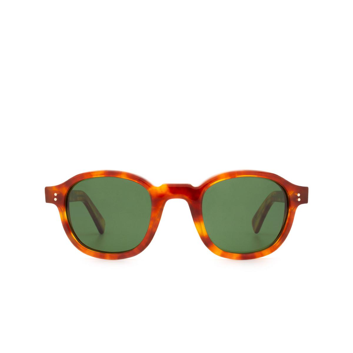 Lesca® Square Sunglasses: BRUT PANTO 8MM color Havana 12.