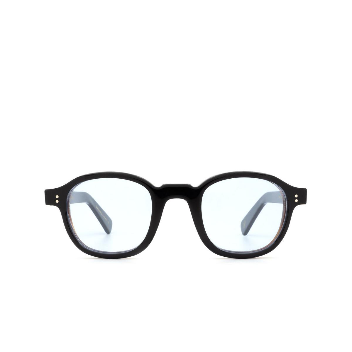 Lesca® Square Sunglasses: BRUT PANTO 8MM color Black 13 - front view.