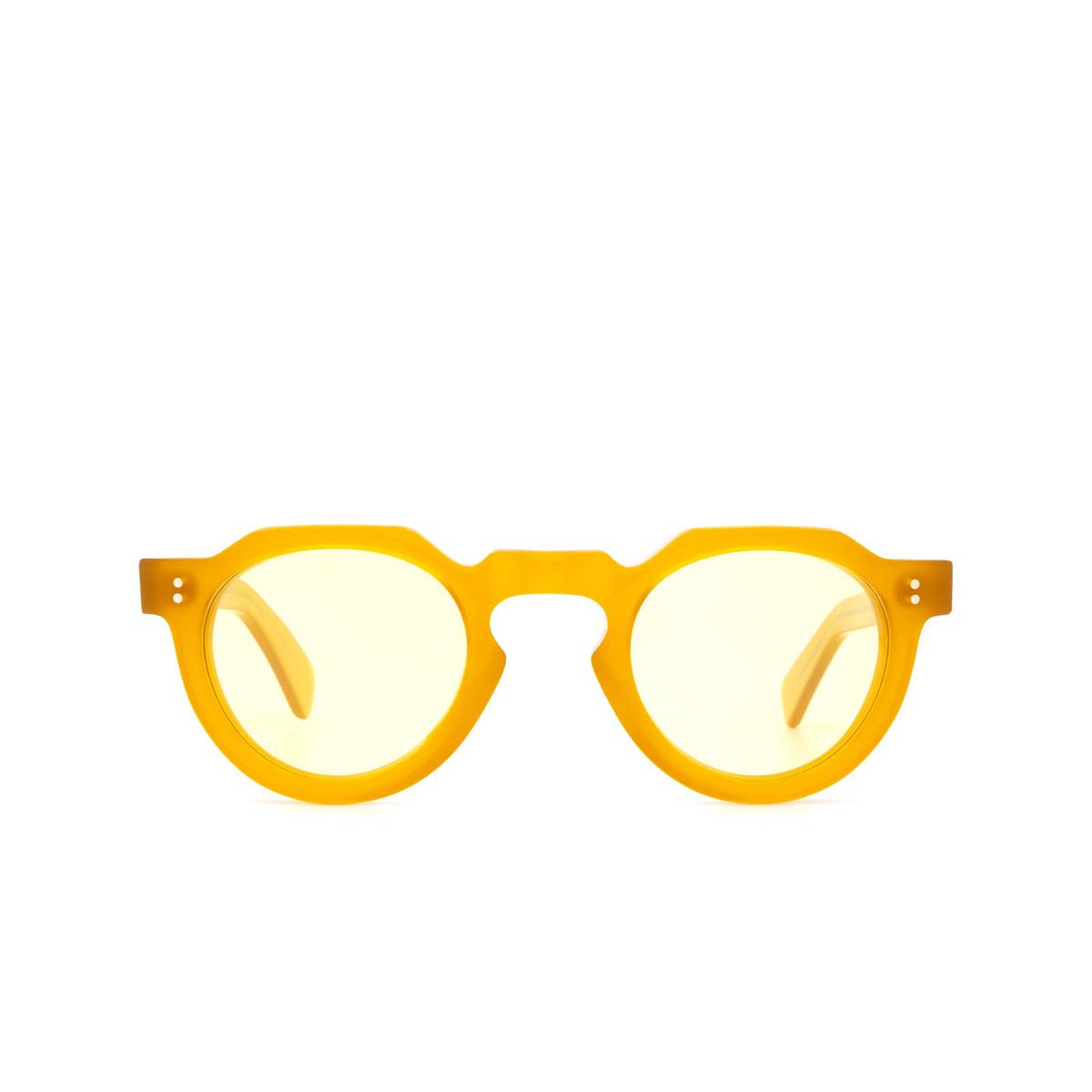 Lesca® Irregular Sunglasses: CROWN PANTO 8MM color Honey 1 - 1/3.