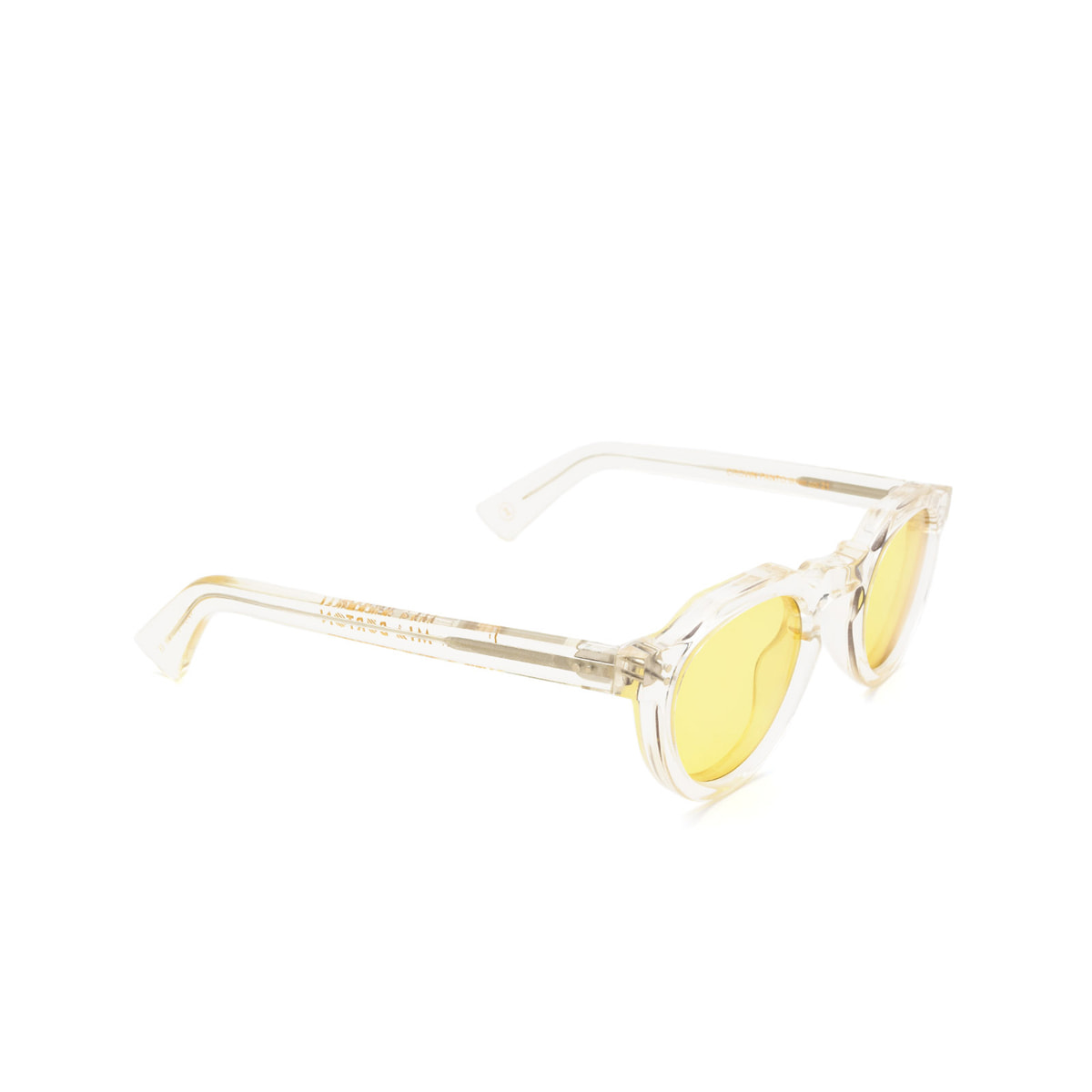 Lesca® Irregular Sunglasses: Crown Panto X Mia Burton color 21 - JOYFUL YELLOW.