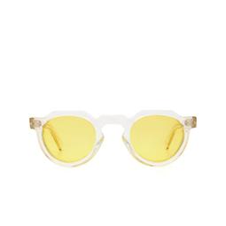 Lesca® Sunglasses: Crown Panto X Mia Burton color 21 - JOYFUL YELLOW.