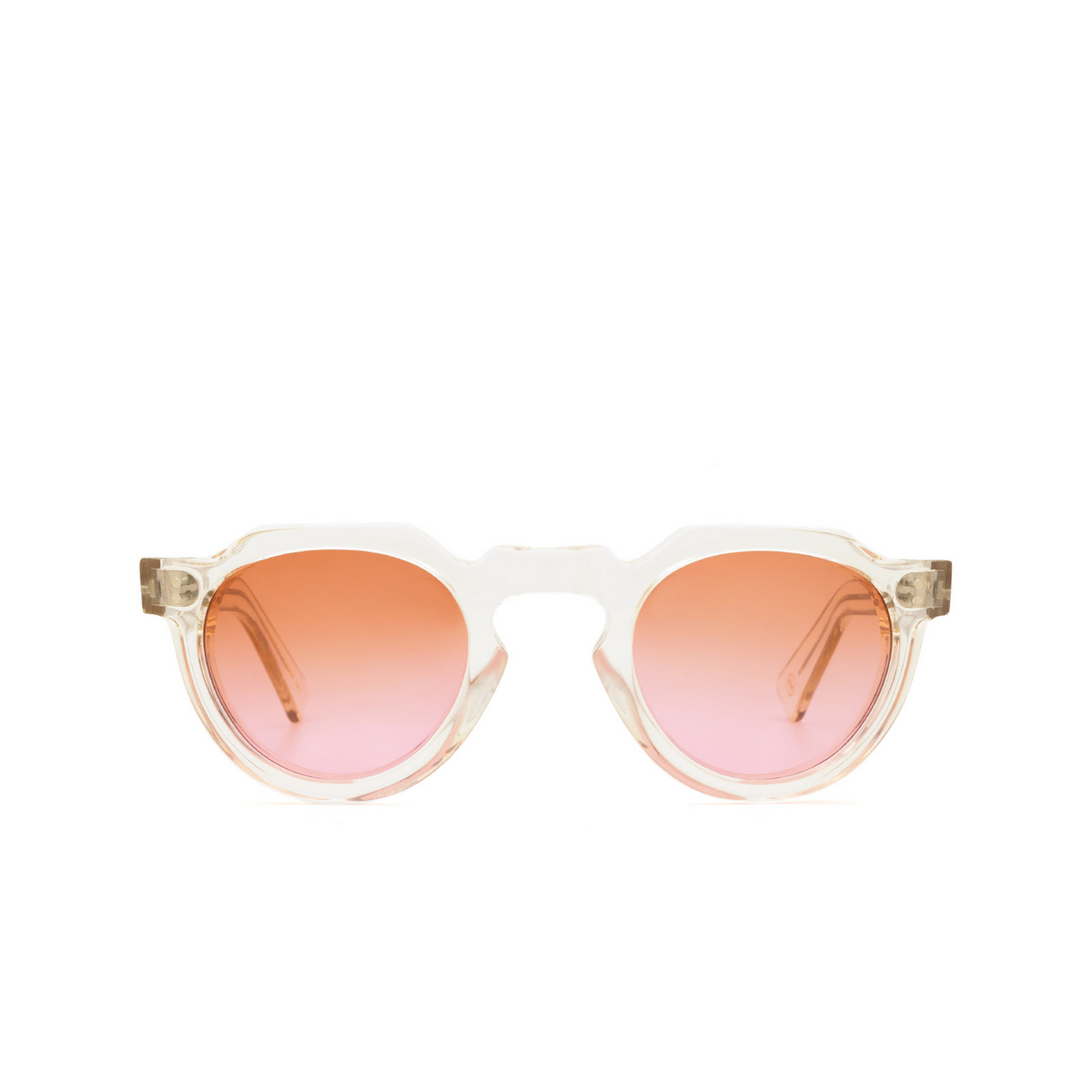Lesca® Irregular Sunglasses: Crown Panto X Mia Burton color 21 - VISIONARY / ROMANTIC GRADIENT - front view.