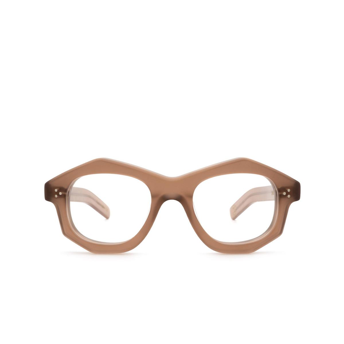 Lesca® Irregular Eyeglasses: Dada color Chair Matt 2 - front view.