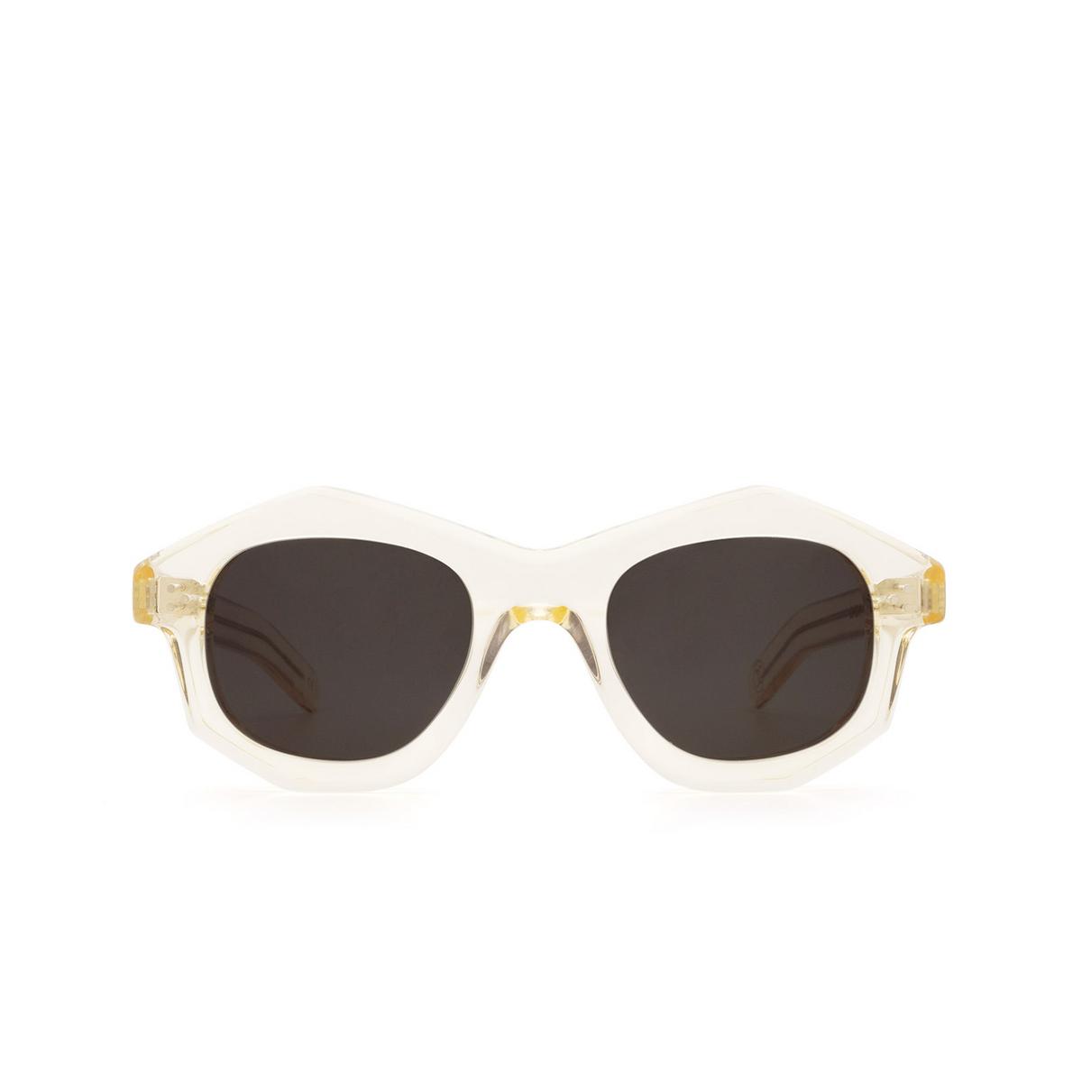 Lesca® Irregular Sunglasses: Dada Sun color Champagne 186 - front view.