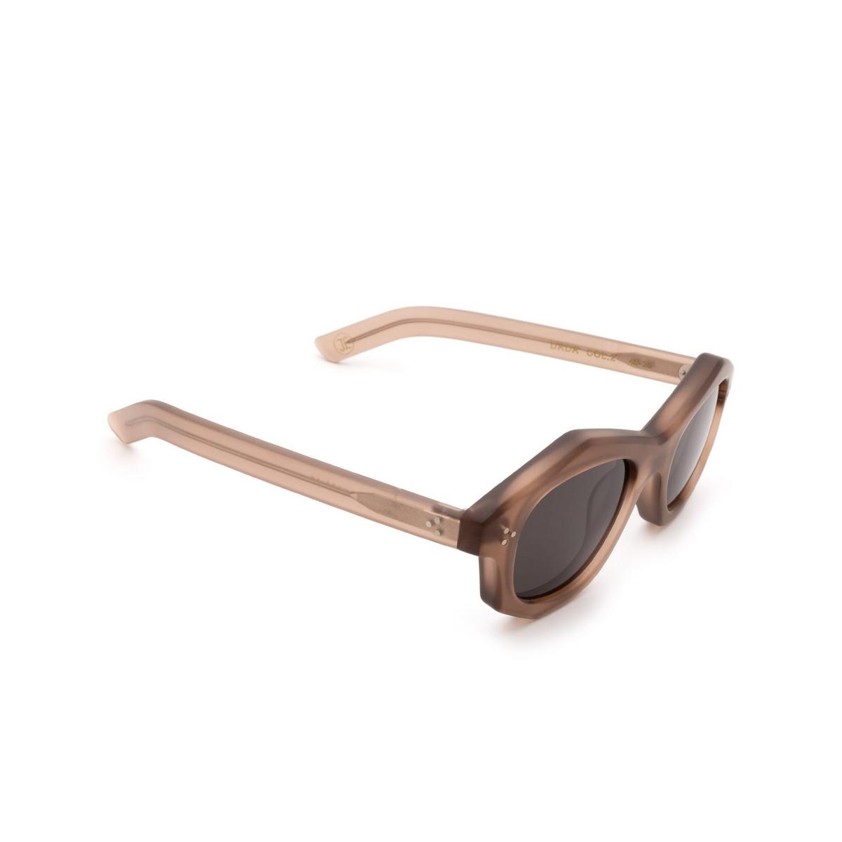 Lesca® Irregular Sunglasses: Dada Sun color Chair Matt 2 - three-quarters view.