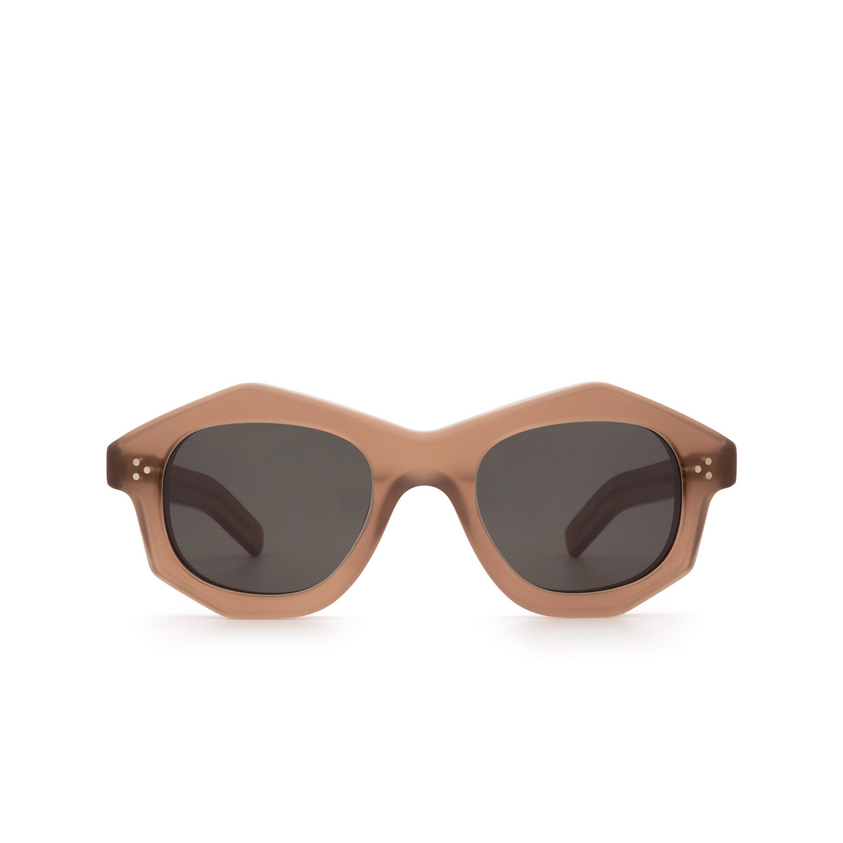 Lesca® Irregular Sunglasses: Dada Sun color Chair Matt 2 - front view.