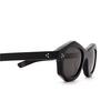 Lesca® Irregular Sunglasses: Dada Sun color Black 5 - product thumbnail 3/3.