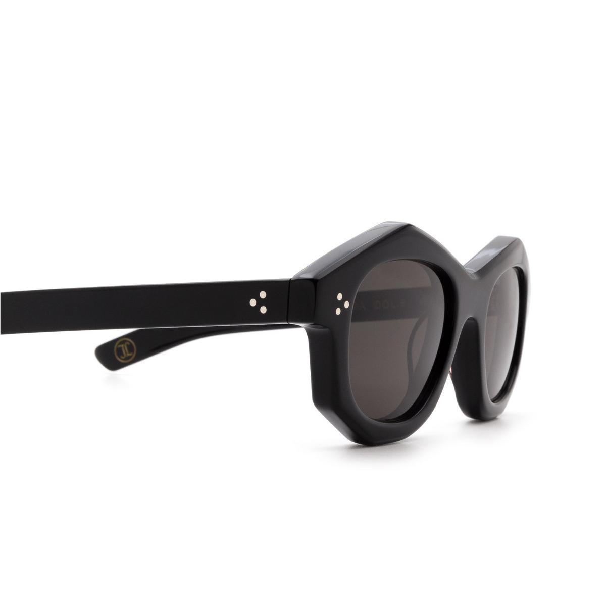 Lesca® Irregular Sunglasses: Dada Sun color Black 5 - 3/3.