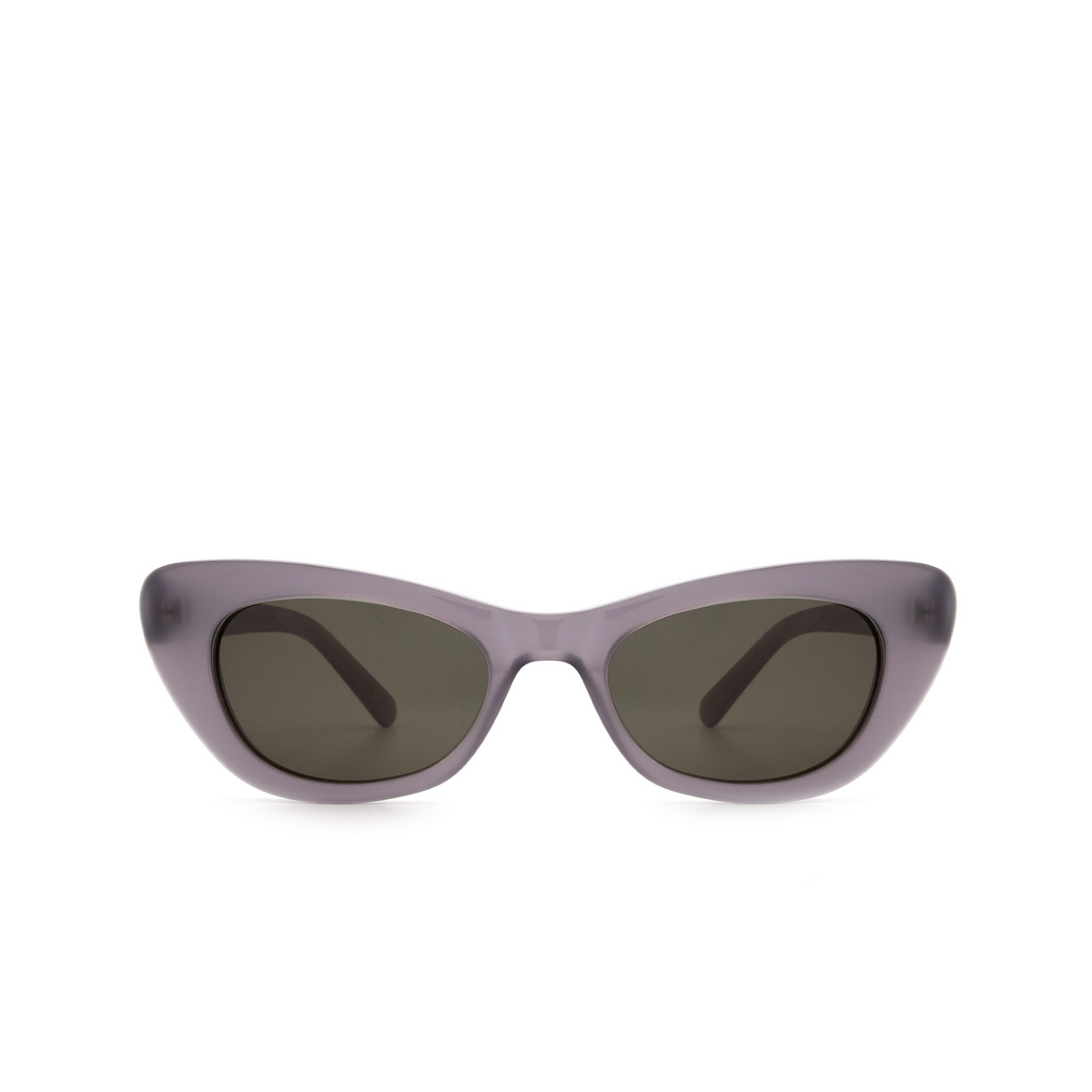 Lesca® Cat-eye Sunglasses: Doro color Gris JO-6 - front view.