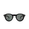 Lesca® Round Sunglasses: Gaston color Noir 5 - product thumbnail 1/3.