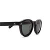Lesca® Round Sunglasses: Gaston color Noir 5 - product thumbnail 3/3.
