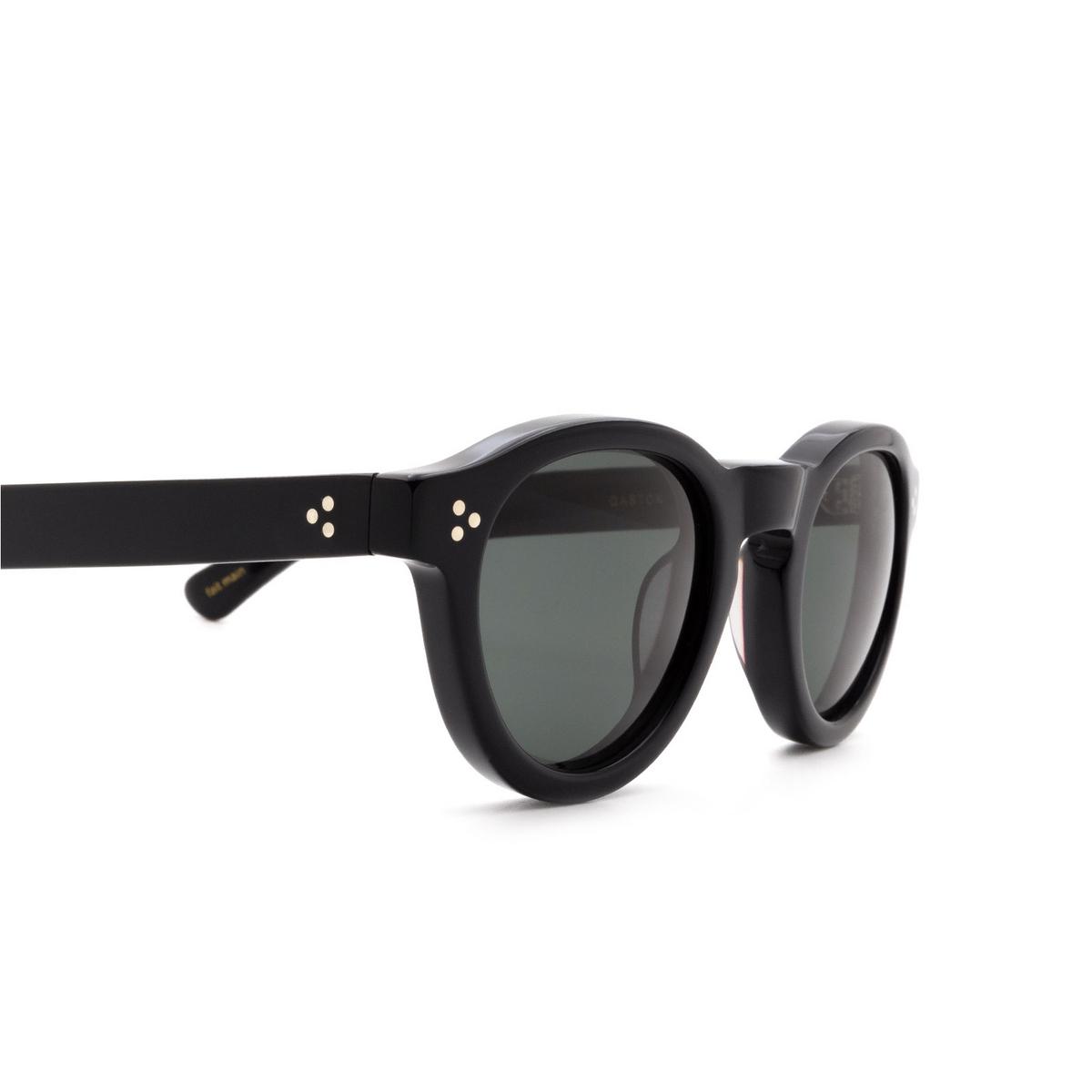 Lesca® Round Sunglasses: Gaston color Noir 5 - 3/3.