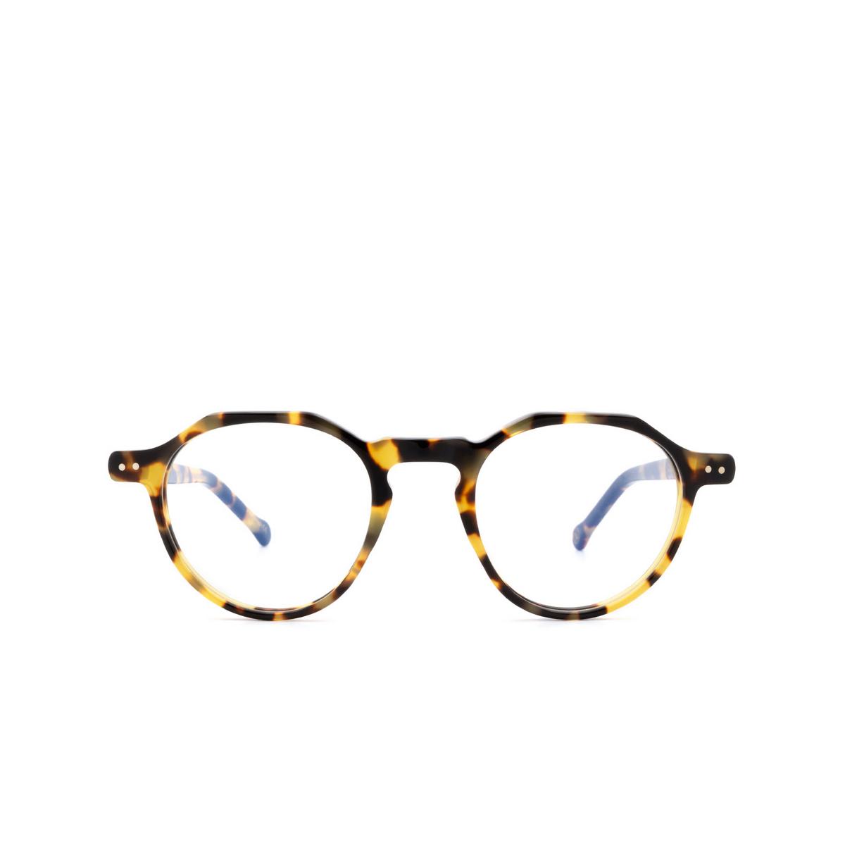 Lesca® Irregular Eyeglasses: Icon color Havana 228 - front view.