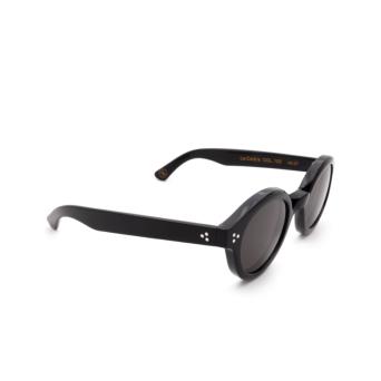 Lesca® Round Sunglasses: La Corbs color Black 100.