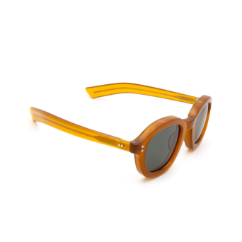 Lesca® Square Sunglasses: Largo color Honey 1.