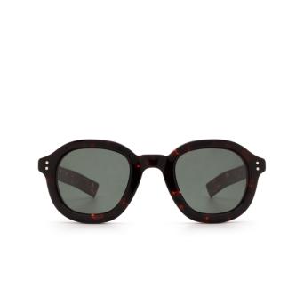 Lesca® Square Sunglasses: Largo color Dark Tortoise 424.