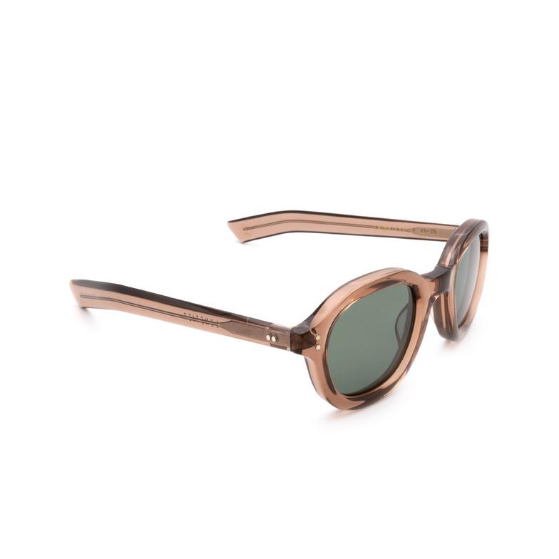 Lesca® Square Sunglasses: Largo color Transparent Brown 8.