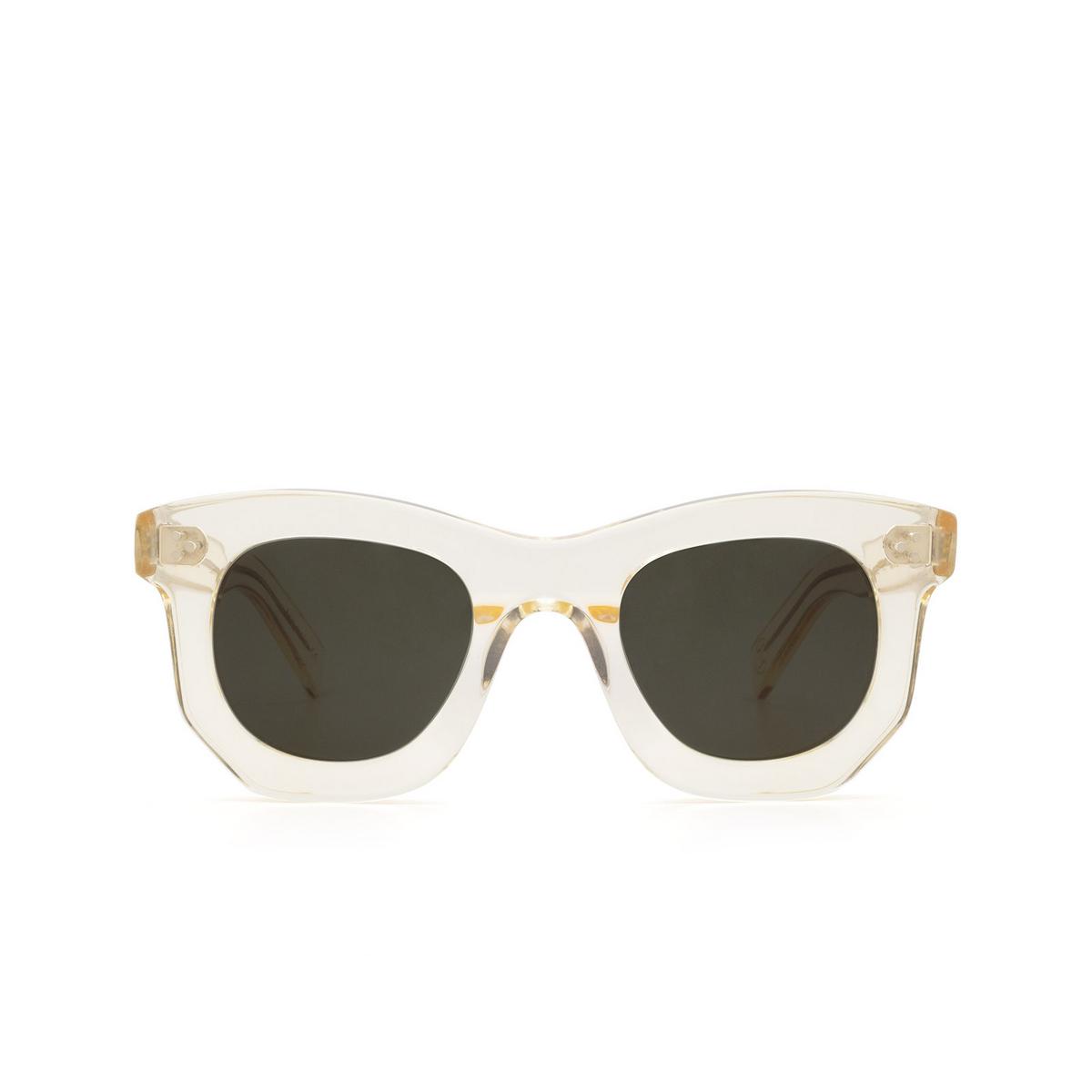 Lesca® Irregular Sunglasses: Ogre Sun color Champagne 186 - front view.