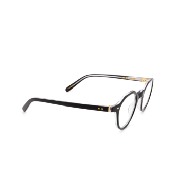 Lesca® Irregular Eyeglasses: P21 color Black 160.