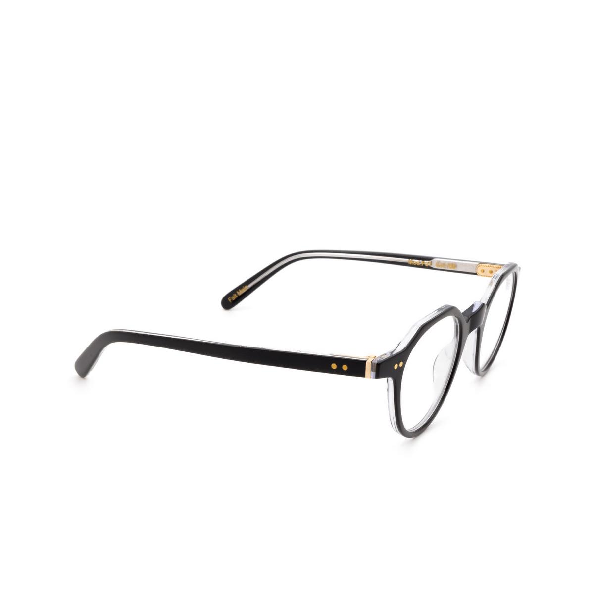 Lesca® Irregular Eyeglasses: P21 color Black 160.