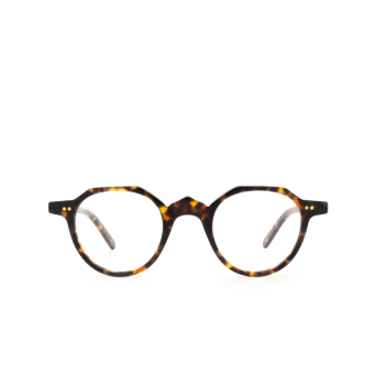 Lesca® Irregular Eyeglasses: P21 color Havana 424.