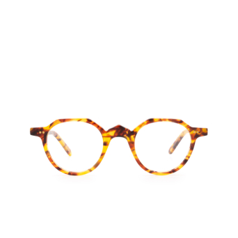 Lesca® Irregular Eyeglasses: P21 color Light Havana Blond.