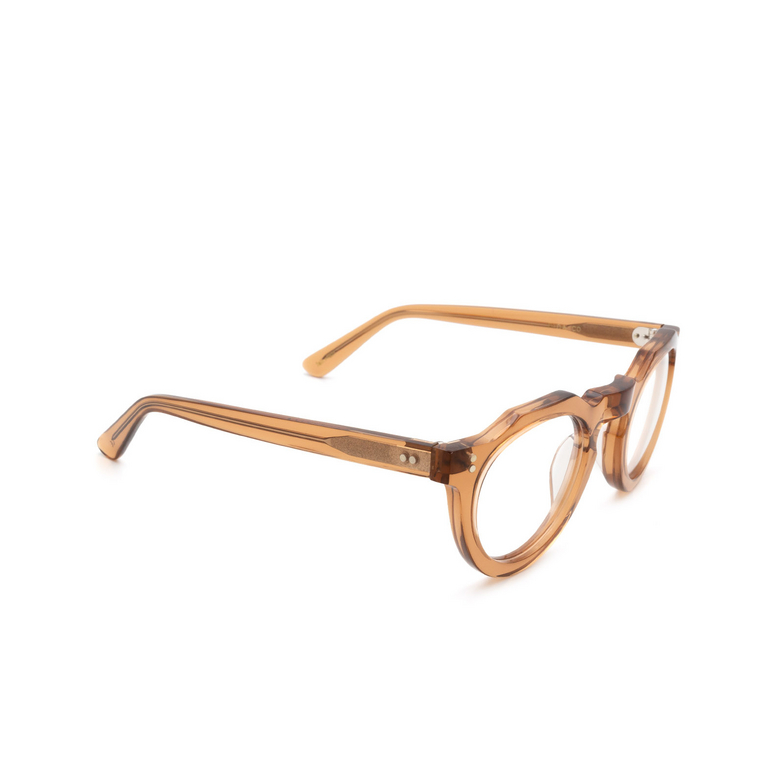 Lesca® Irregular Eyeglasses: Pica color Cognac Co.