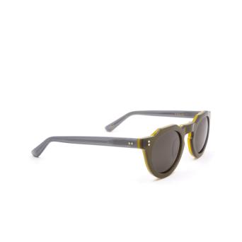 Lesca® Irregular Sunglasses: Pica Sun color Green A2.