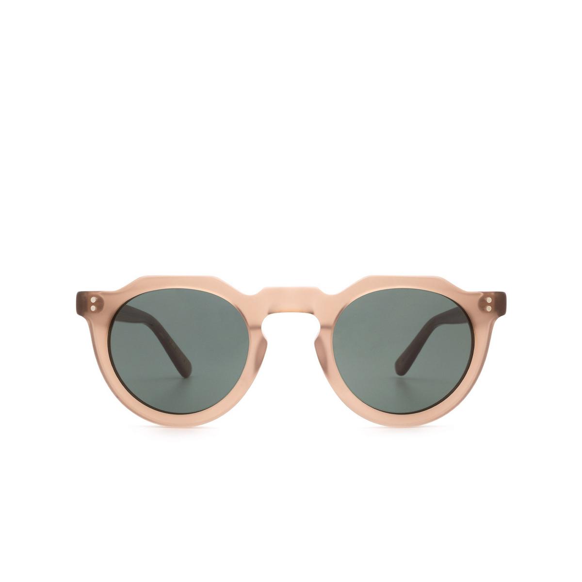 Lesca® Irregular Sunglasses: Picas color Cognac Matt 2.