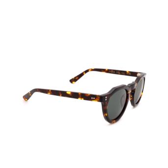 Lesca® Irregular Sunglasses: Picas color Écaille Foncé 424.