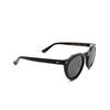 Lesca® Irregular Sunglasses: Picas color Noir 5 - product thumbnail 2/3.