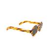 Lesca® Round Sunglasses: Tabu color Écaille Clair A8 - product thumbnail 2/3.