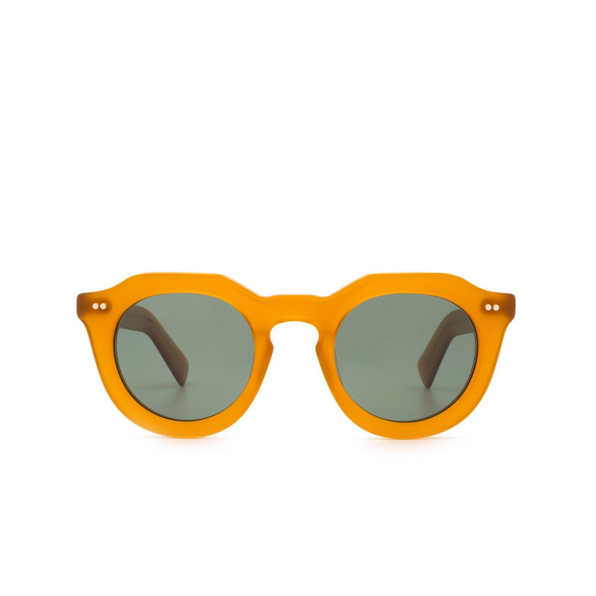 Lesca® Irregular Sunglasses: Toro color Miel 1.