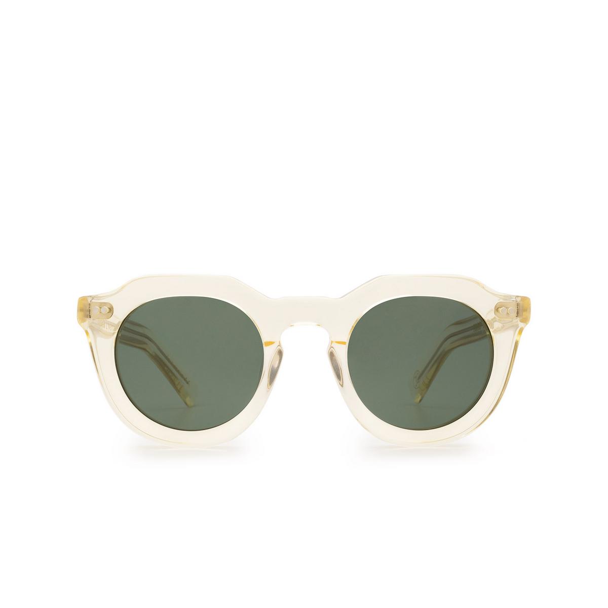 Lesca® Irregular Sunglasses: Toro color Champagne 186 - front view.
