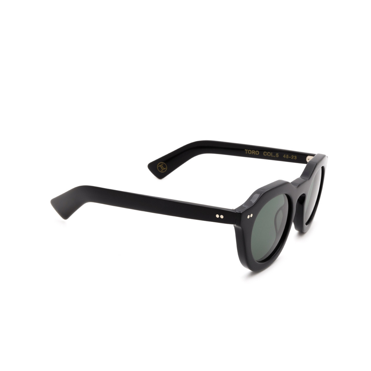 Lesca® Irregular Sunglasses: Toro color Noir 5.
