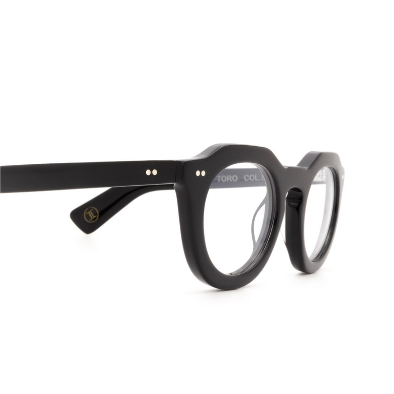 Lesca® Irregular Eyeglasses: Toro Optic color Black 5.