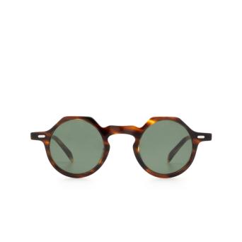 Lesca® Irregular Sunglasses: Yoga Sun color Havana 193.