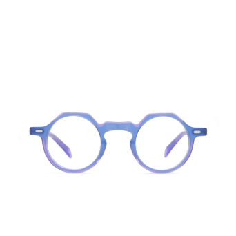 Lesca® Irregular Eyeglasses: Yoga color Blue Violet Bv.
