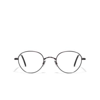 L.G.R® Oval Eyeglasses: Blixen color Grey Matt 04.