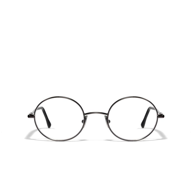 L.G.R® Round Eyeglasses: Bowles color Matte Grey 04.