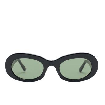 L.G.R® Oval Sunglasses: Dalia color Black 01.