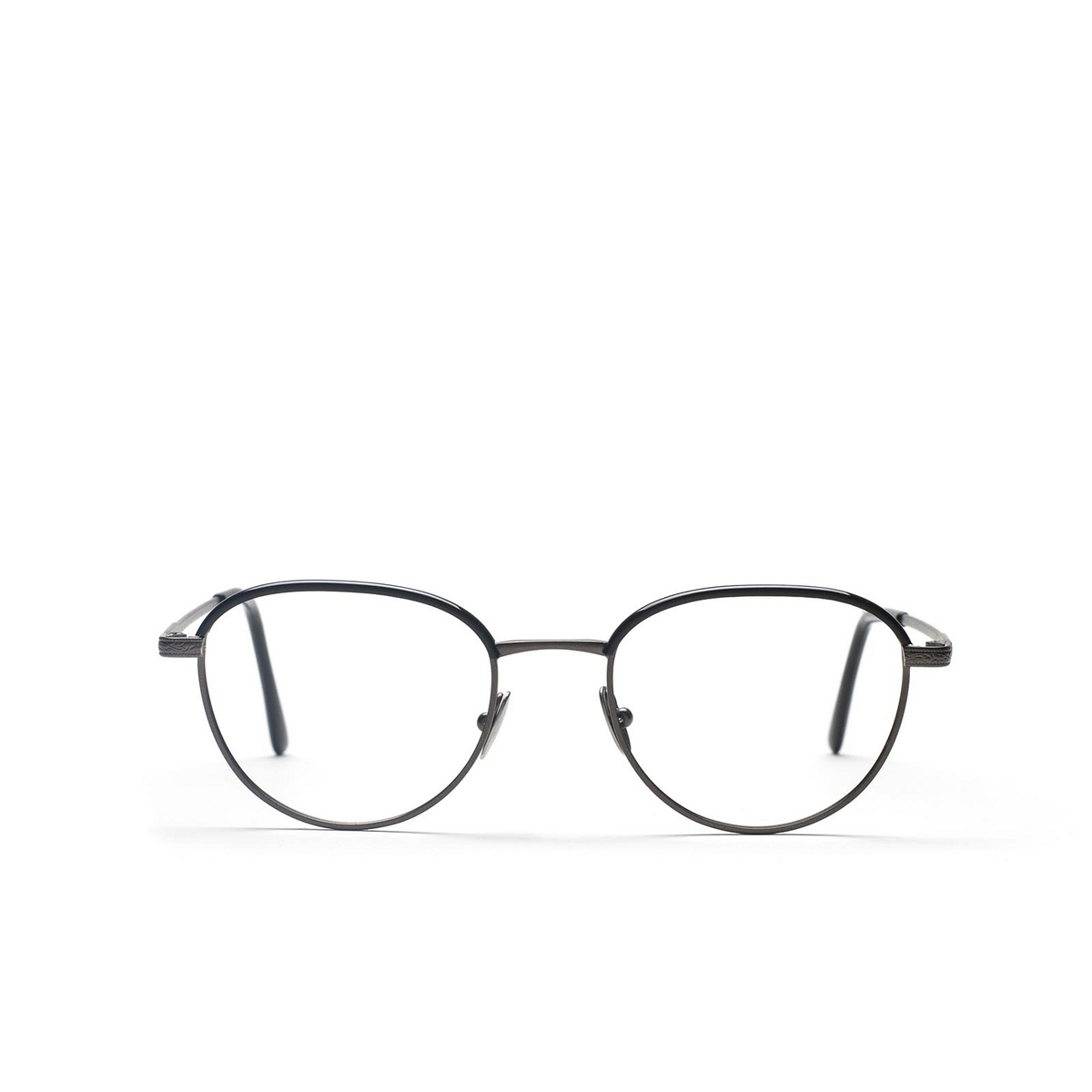 L.G.R® Square Eyeglasses: Sirocco color Gunmetal 04.
