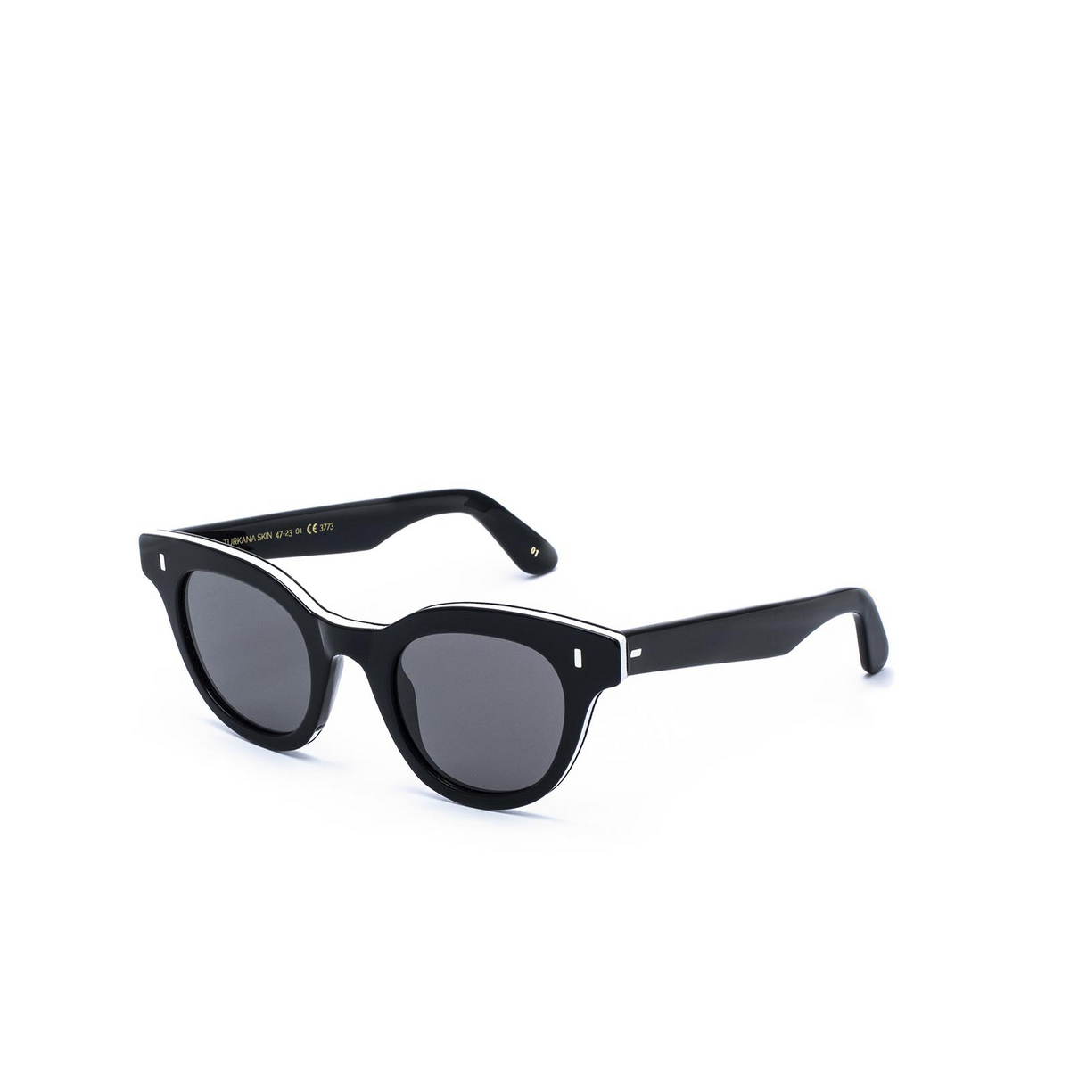 L.G.R® Cat-eye Sunglasses: Turkana Skin color Black 01.