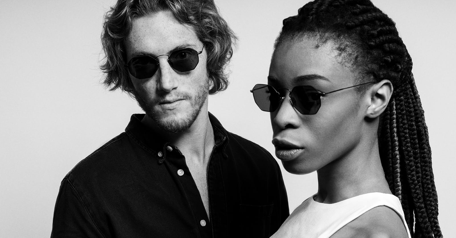 man-and-woman-wearing-eyepetizer-claire-x-mia-burton-sunglasses