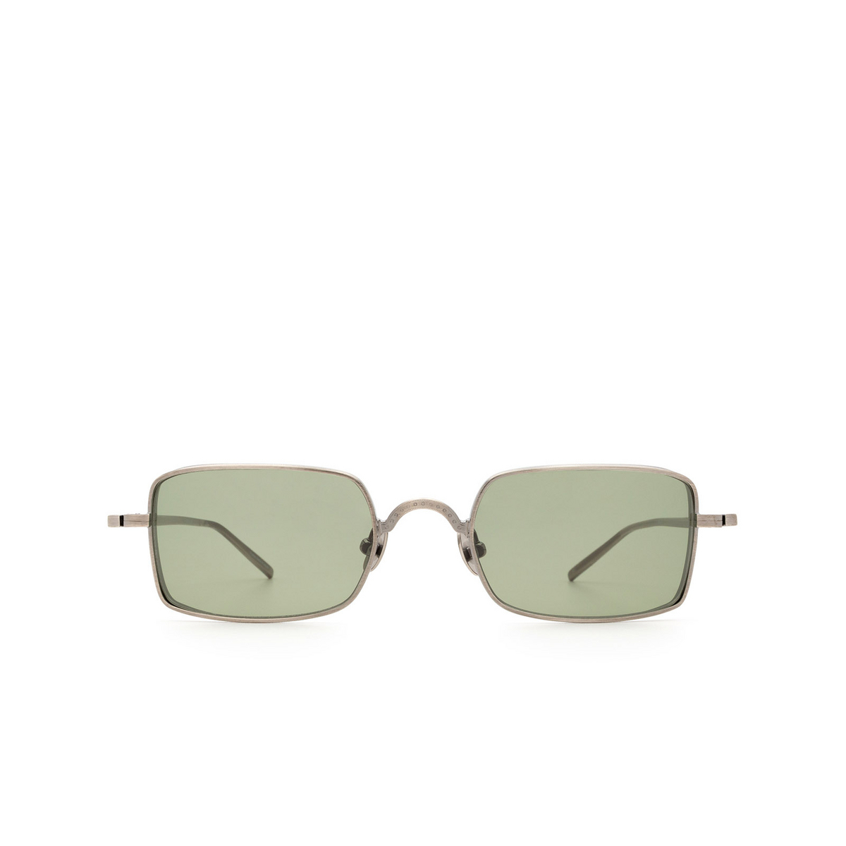 Matsuda® Rectangle Sunglasses: M3079 color Antique Silver As.