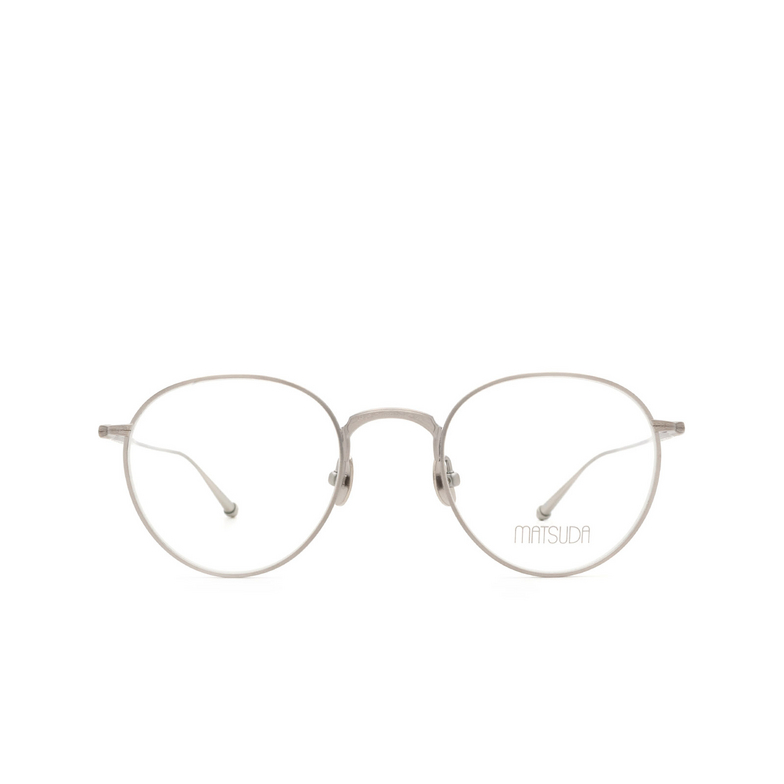 Matsuda® Round Eyeglasses: M3085 color Antique Silver As.