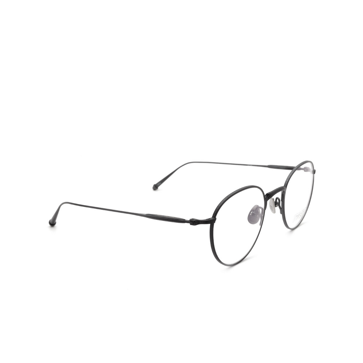 Matsuda® Round Eyeglasses: M3085 color Matte Black Mbk.